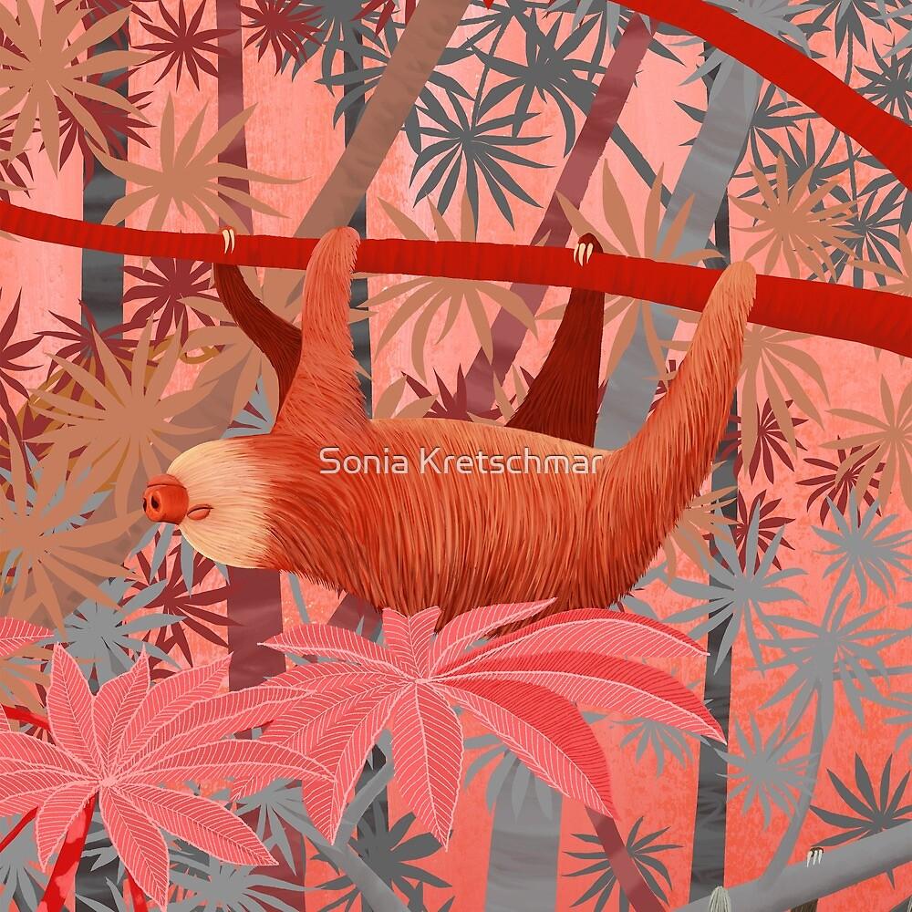 Technicolor Jungle 3 by Sonia Kretschmar