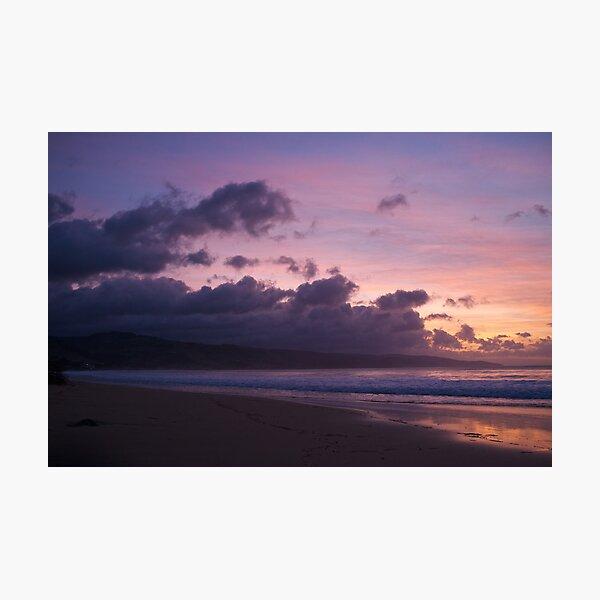 Sunrise in Apollo Bay Photographic Print