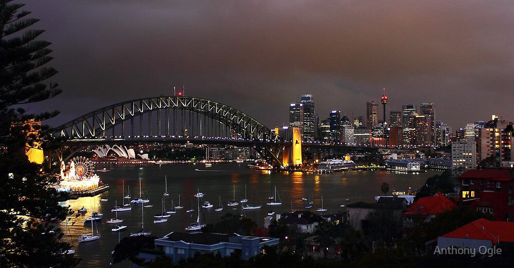 Colours of Sydney - Ready for the Night by Anthony Ogle