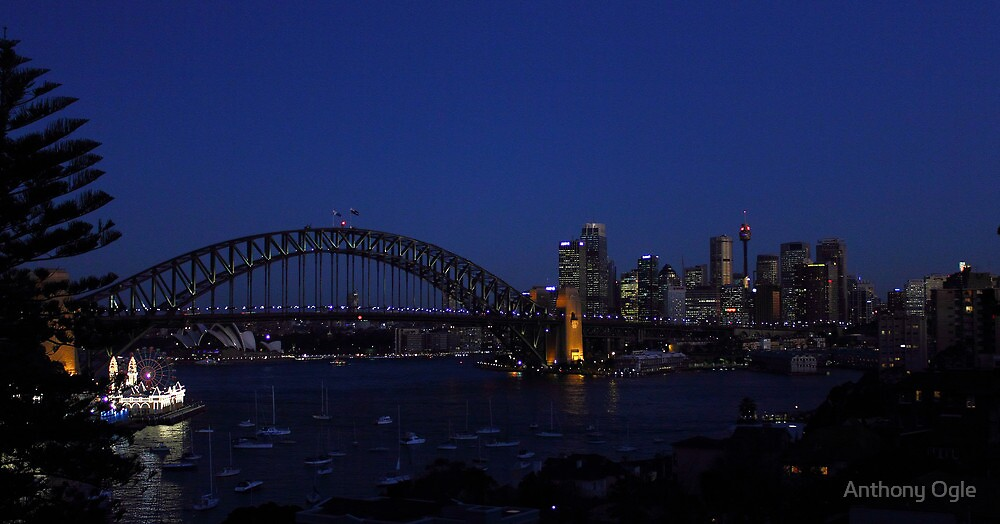 Colours of Sydney - Blue by Anthony Ogle