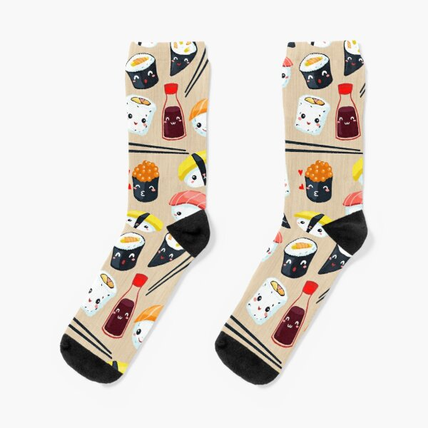 Kawaii Sushi Socks