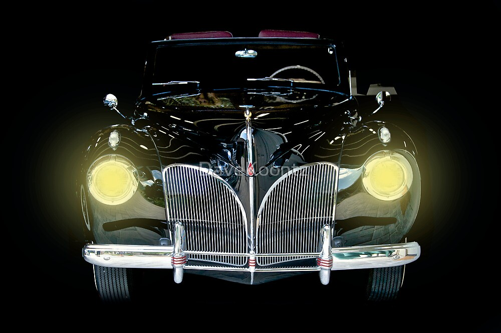 1941 Lincoln Convertible  by DaveKoontz