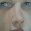 Oil work in progress by Samantha Aplin