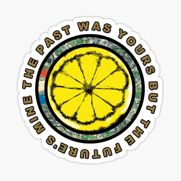 The Stone Roses Lemon Design She Bangs The Drums Manchester Sticker