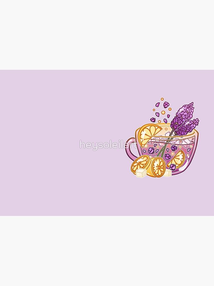 Lavender Lemonade by heysoleilart