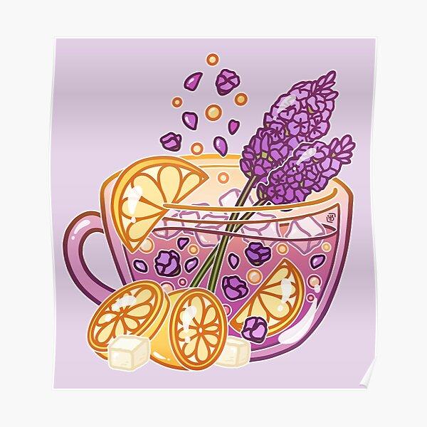 Lavender Lemonade Poster