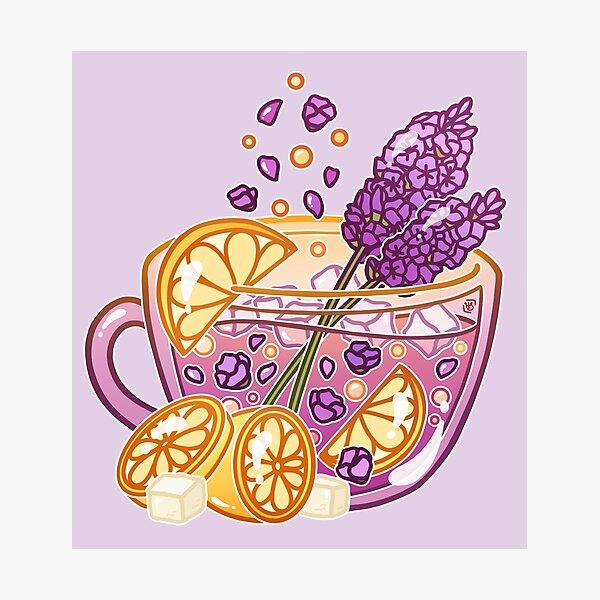 Lavender Lemonade Photographic Print