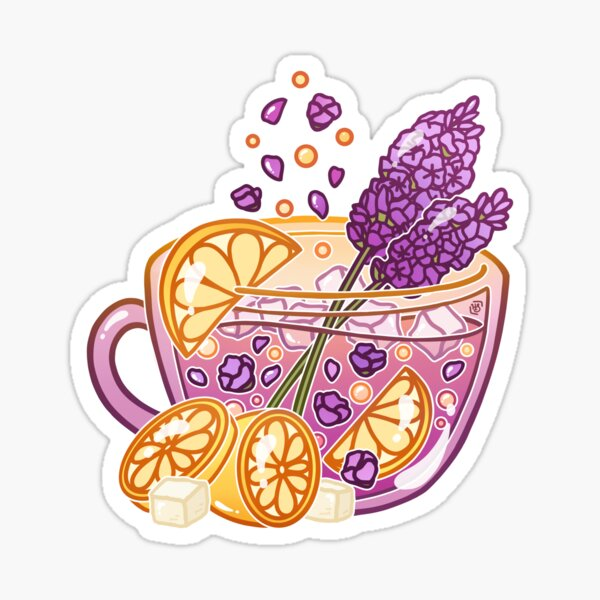 Lavender Lemonade Sticker