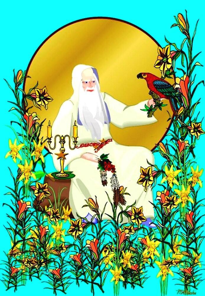 Wizard's Garden by MaryAnneRitchie