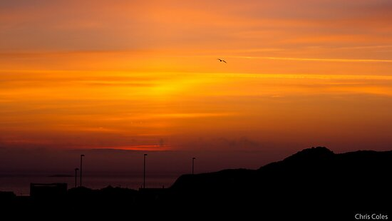 Sunrise from Hoofields by ccoles