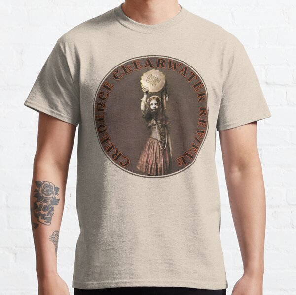 Álbum Creedence Clearwater Revival Mardi Gras Camiseta clásica