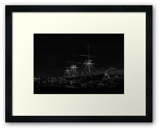 HMS Warrior by Brian Dukes