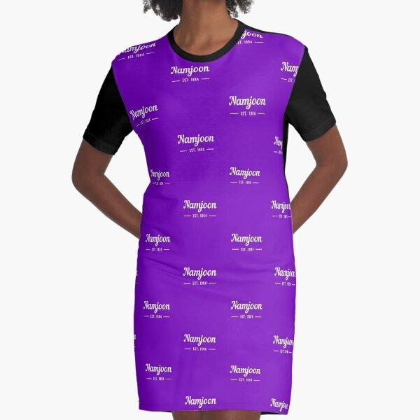 Namjoon Est 1994 Graphic T-Shirt Dress