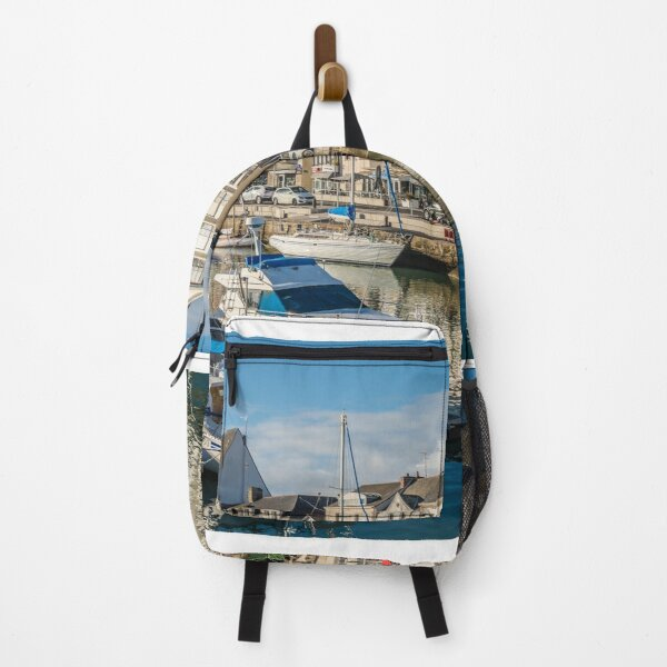 Ship in the sea Backpack