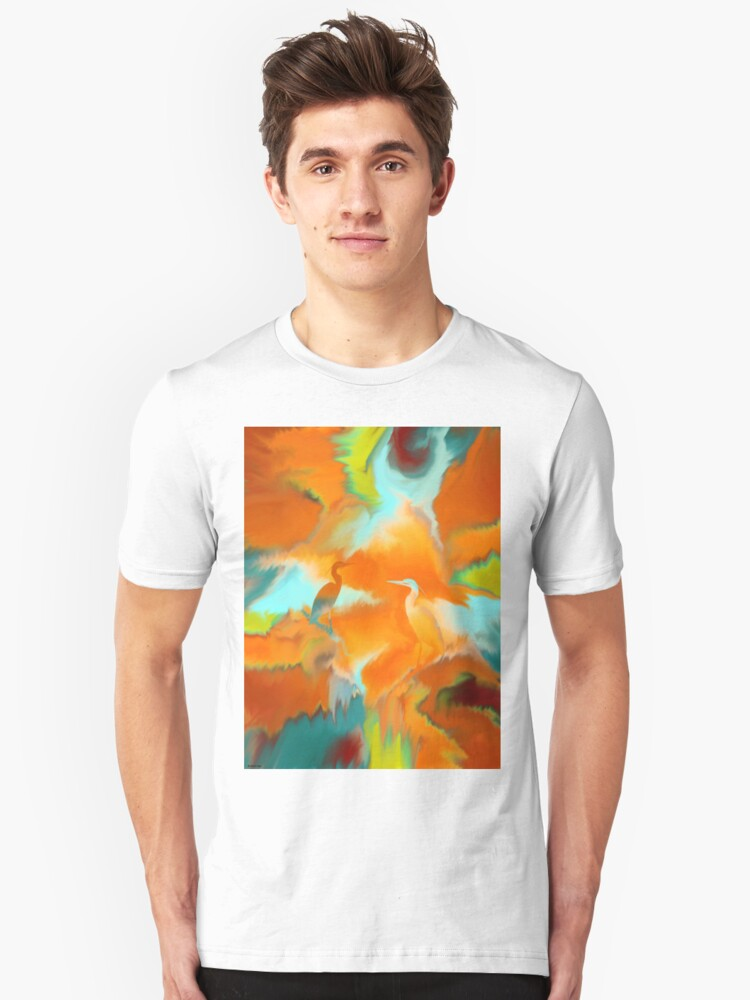 T-shirt  2~ Abstract Unisex T-Shirt Front
