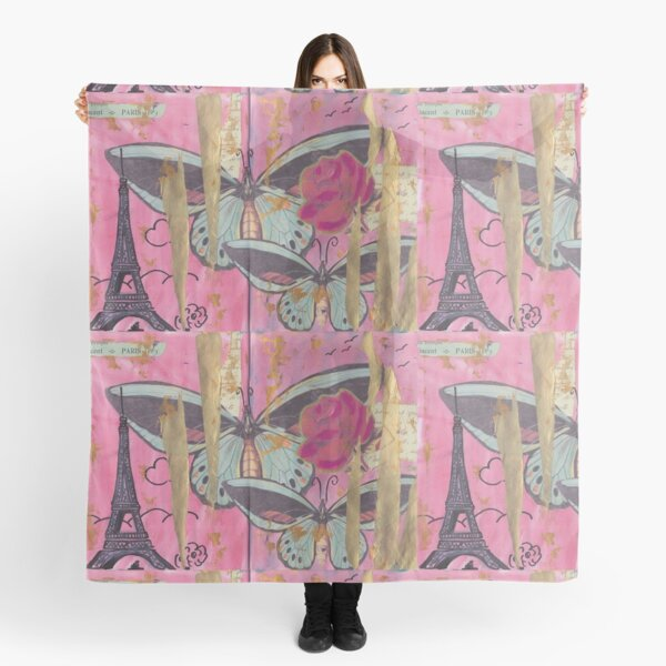 Paris, come travel with me. Scarf