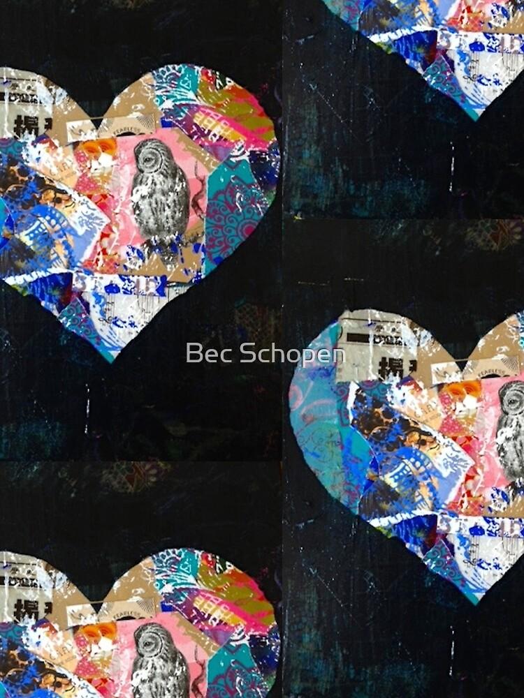 Beautiful Black Heart by Pink70