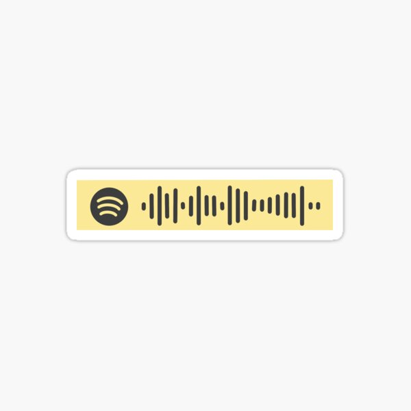 F*ck Donald Trump Spotify Scan Code - FDT by Nipsey Hussle and YG Sticker