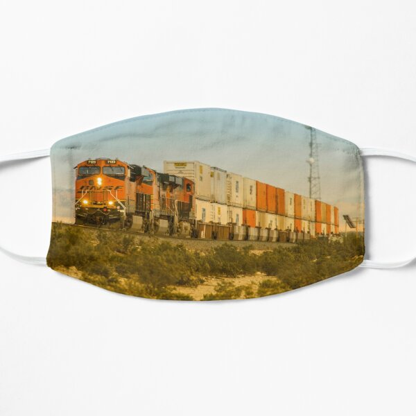 Double Deck Freight  Flat Mask