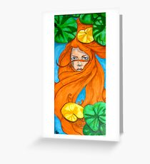 """Lily Pad"" Greeting Card"