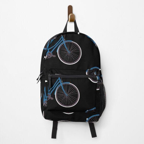 Dark Blue Bike Backpack