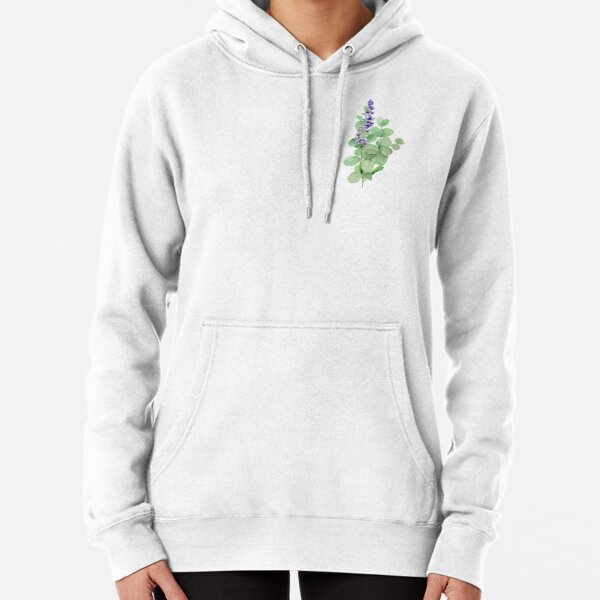 Bouquet of Lavender and eucalyptus Pullover Hoodie