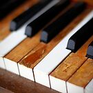 old piano by Keith Midson