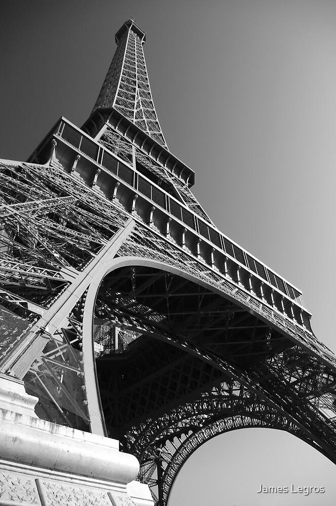 The Eiffel Tower (B&W) by James Legros