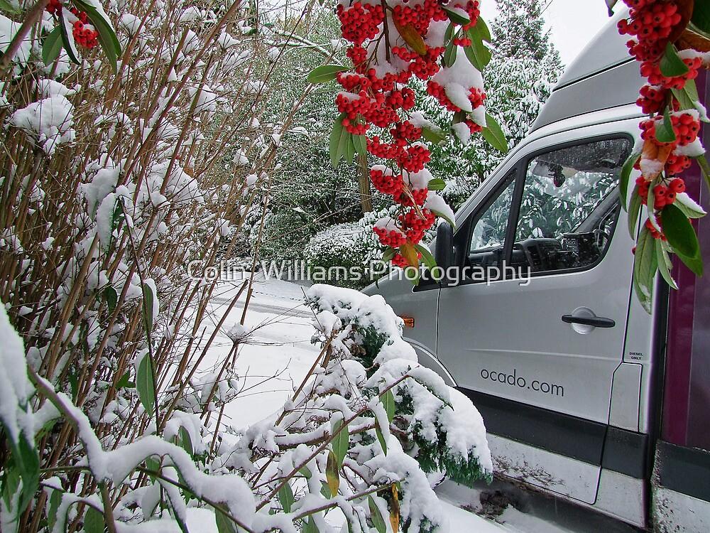 Ocado Snow !! by Colin  Williams Photography