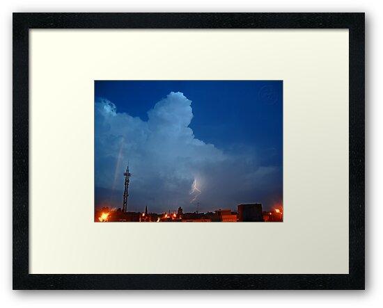 ©HCS Cumulonimbus Precipitatus At Night I by OmarHernandez