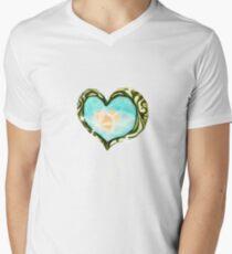 Heart Container Men's V-Neck T-Shirt