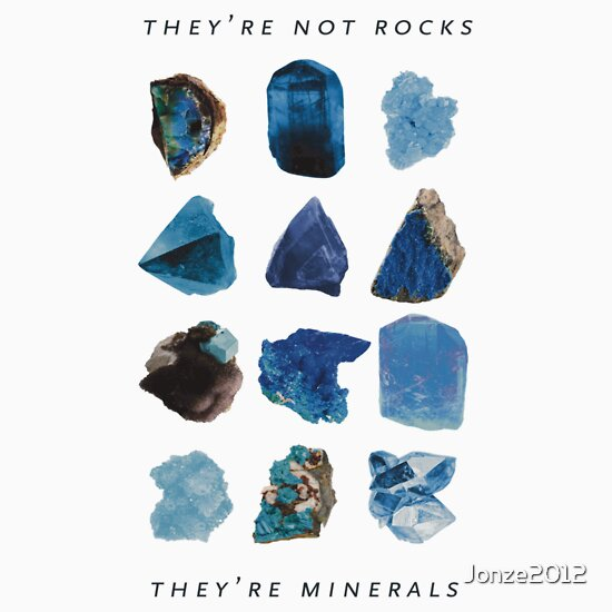 TShirtGifter presents: They're minerals | Unisex T-Shirt