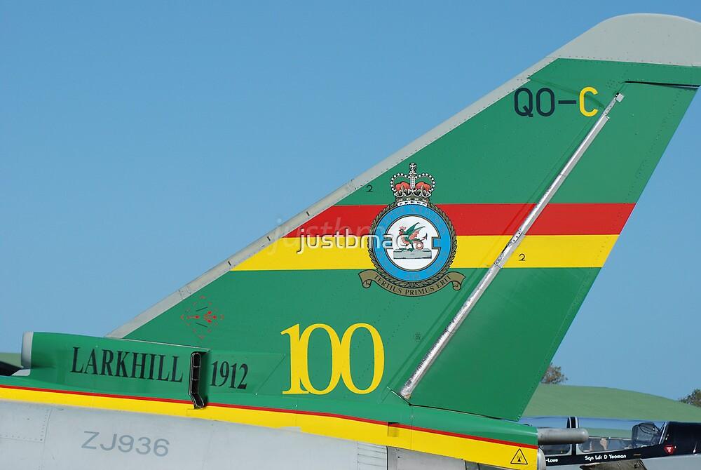 Centenary Tail: Eurofighter EF-2000 Typhoon FGR4 ZJ936 by justbmac