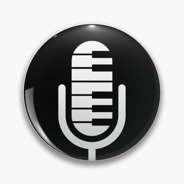 Keyboard Chronicles Logo Merch Pin