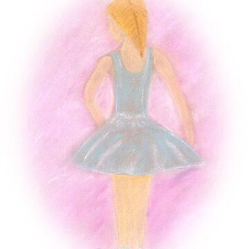 Ballerina in blue by vonnaart