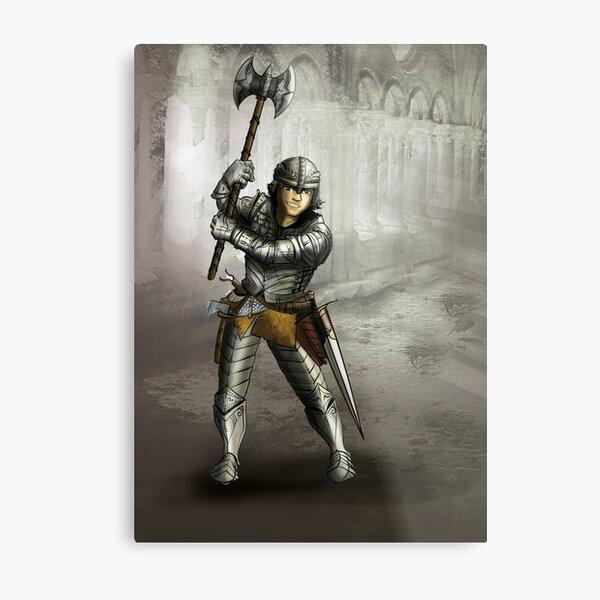 Sir Alix Tremain Metal Print