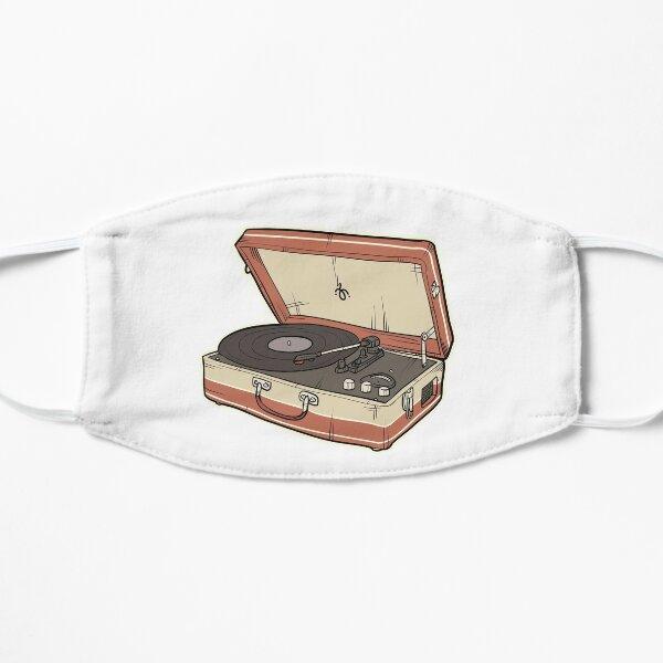 Vintage Record Player Flat Mask