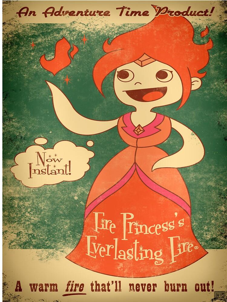 Fire Princess by gwendellin