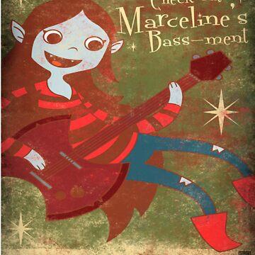 Marceline The Vampire Queen by gwendellin