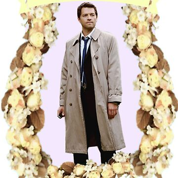 Castiel by MikaylaDeBerry