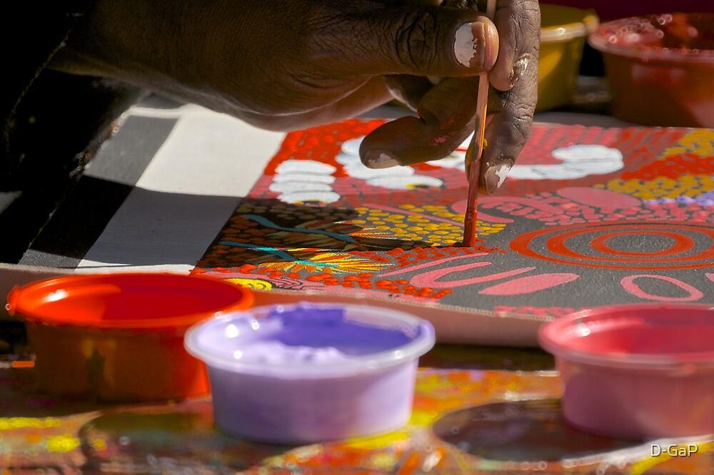 Aboriginal Artist by D-GaP