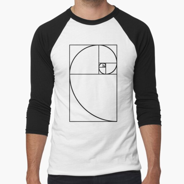 Golden Ratio - Transparent Baseball ¾ Sleeve T-Shirt