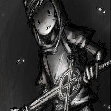 Finn Sketched by gwendellin