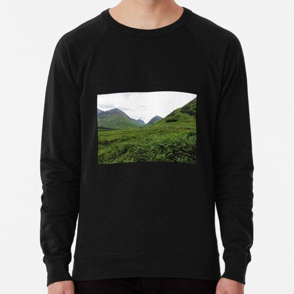 Glencoe Valley - Scottish Highlands Lightweight Sweatshirt