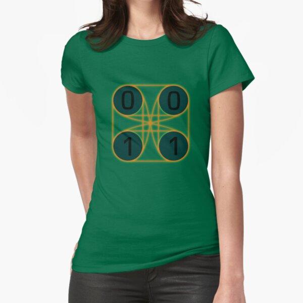 quantum computing [qubit] Fitted T-Shirt