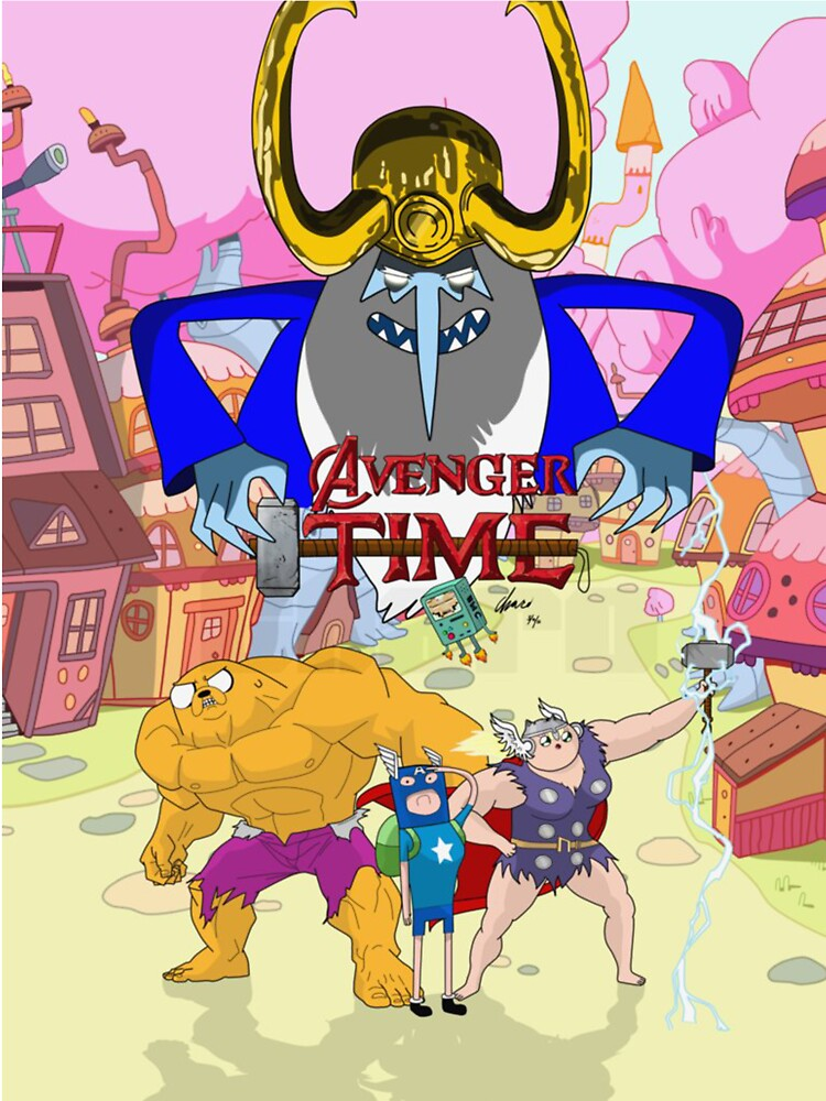 Avenger Time by gwendellin