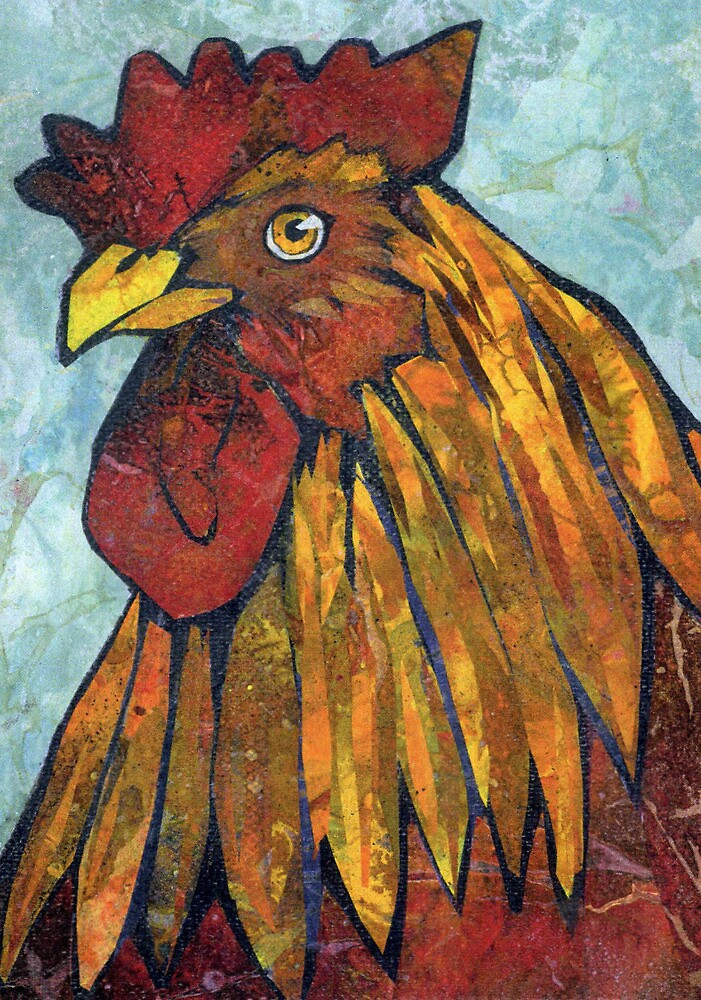 Red Rooster by Barbara Nye