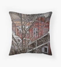 Destruction As Viewed From Destruction Throw Pillow