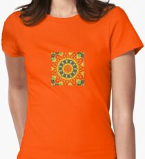 Kaleidoscopic Orange Garden Gazanias T-Shirt