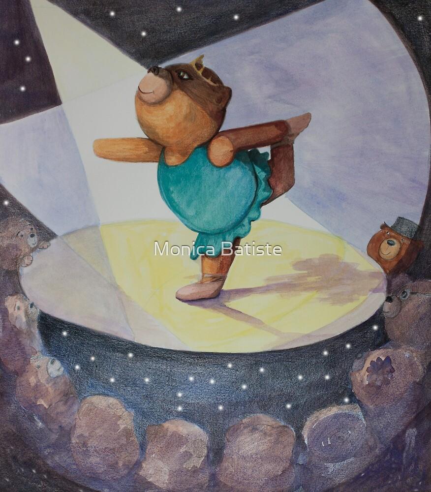 Ballet Bear by Monica Batiste